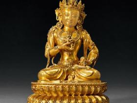 明永乐  铜鎏金摧破金刚成交价(人民币):4,945,000