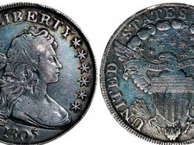 美国早期自由女神像壹圆银币