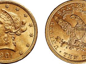 美国10美元印第安人头像金币