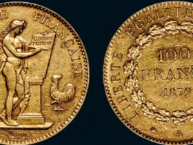 1879年法国天使金币