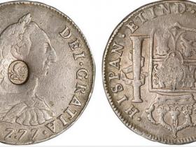 1777年西班牙半圆银币